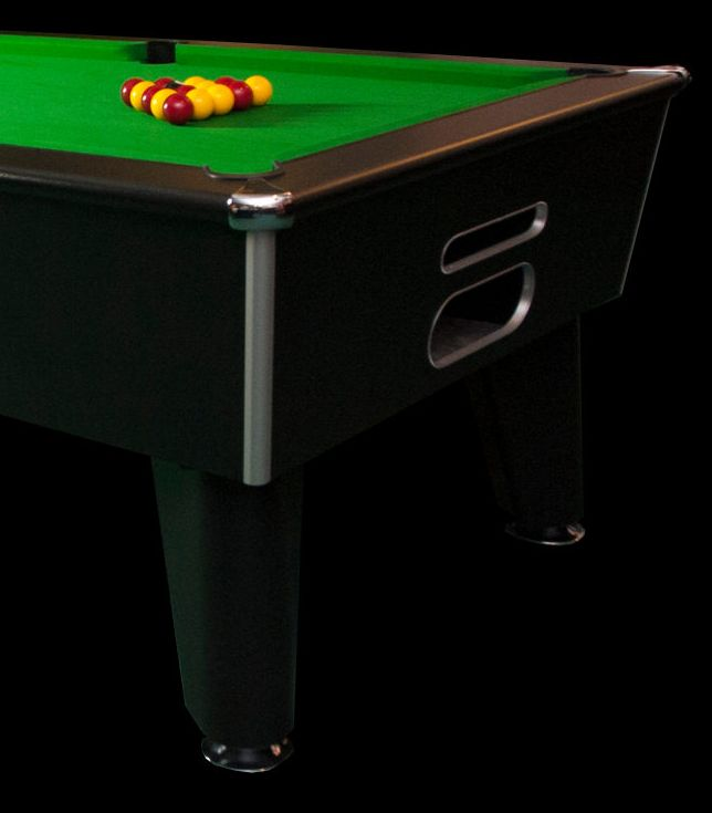 Blackball Table free play black decor
