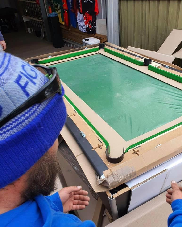 Blackball Tables Australia delivered and assembled